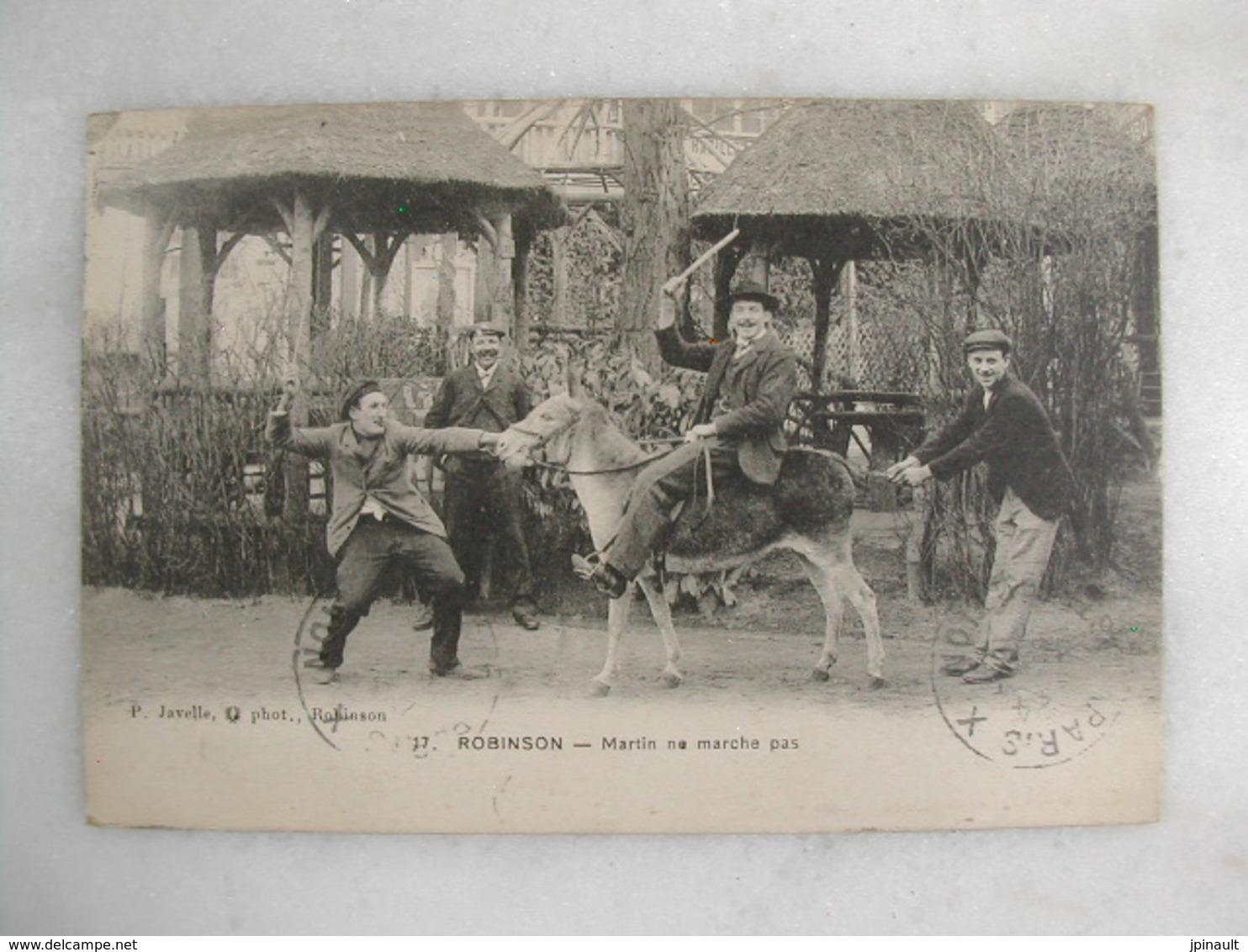 ROBINSON - Martin Ne Marche Pas (animée Avec âne) - Humour