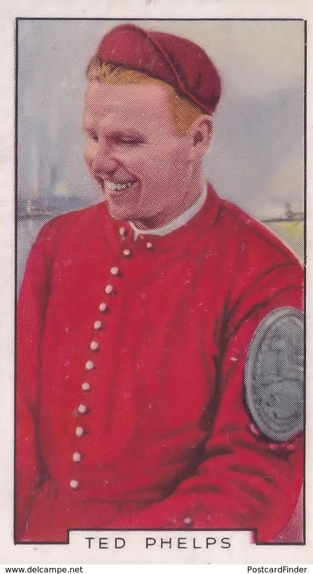 Ted Phelps Cambridge Boat Race Rowing 1930s Cigarette Card - Sigaretten - Toebehoren