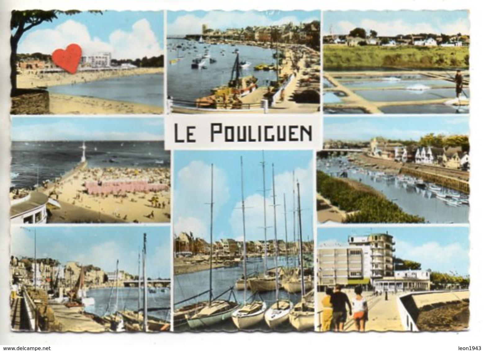 03484-LE-44-Souvenir Du POULIGUEN--------------------multivues - Le Pouliguen