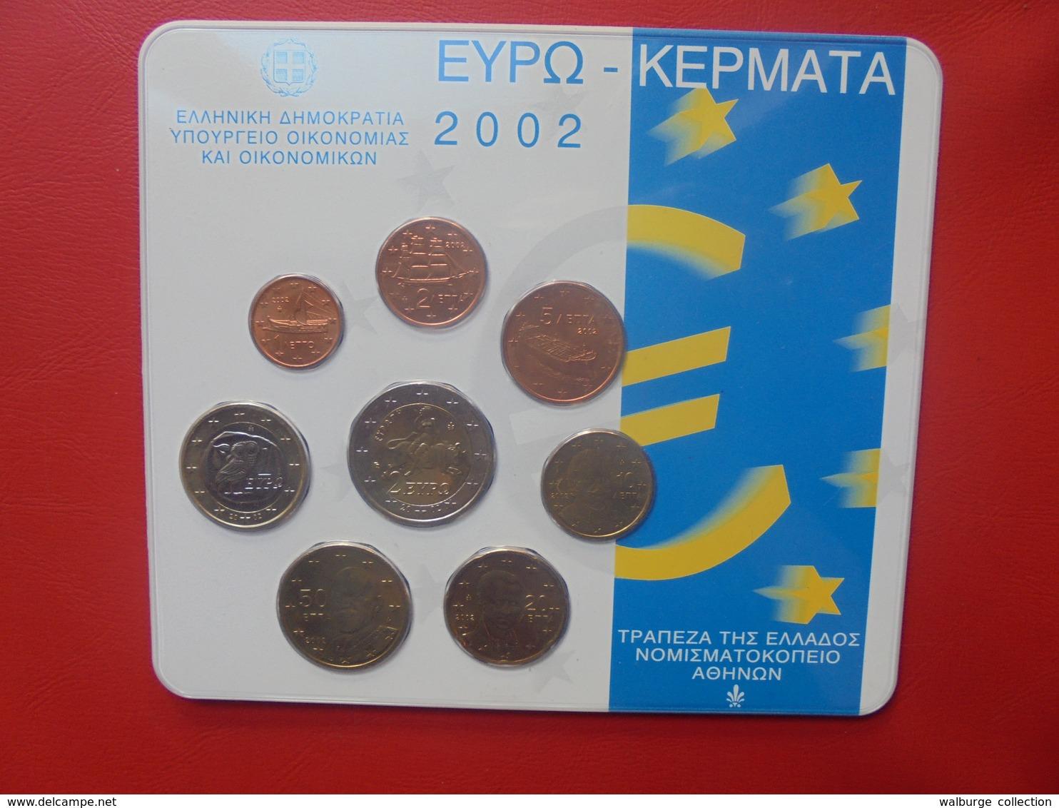 GRECE FDC 2002 - Grèce