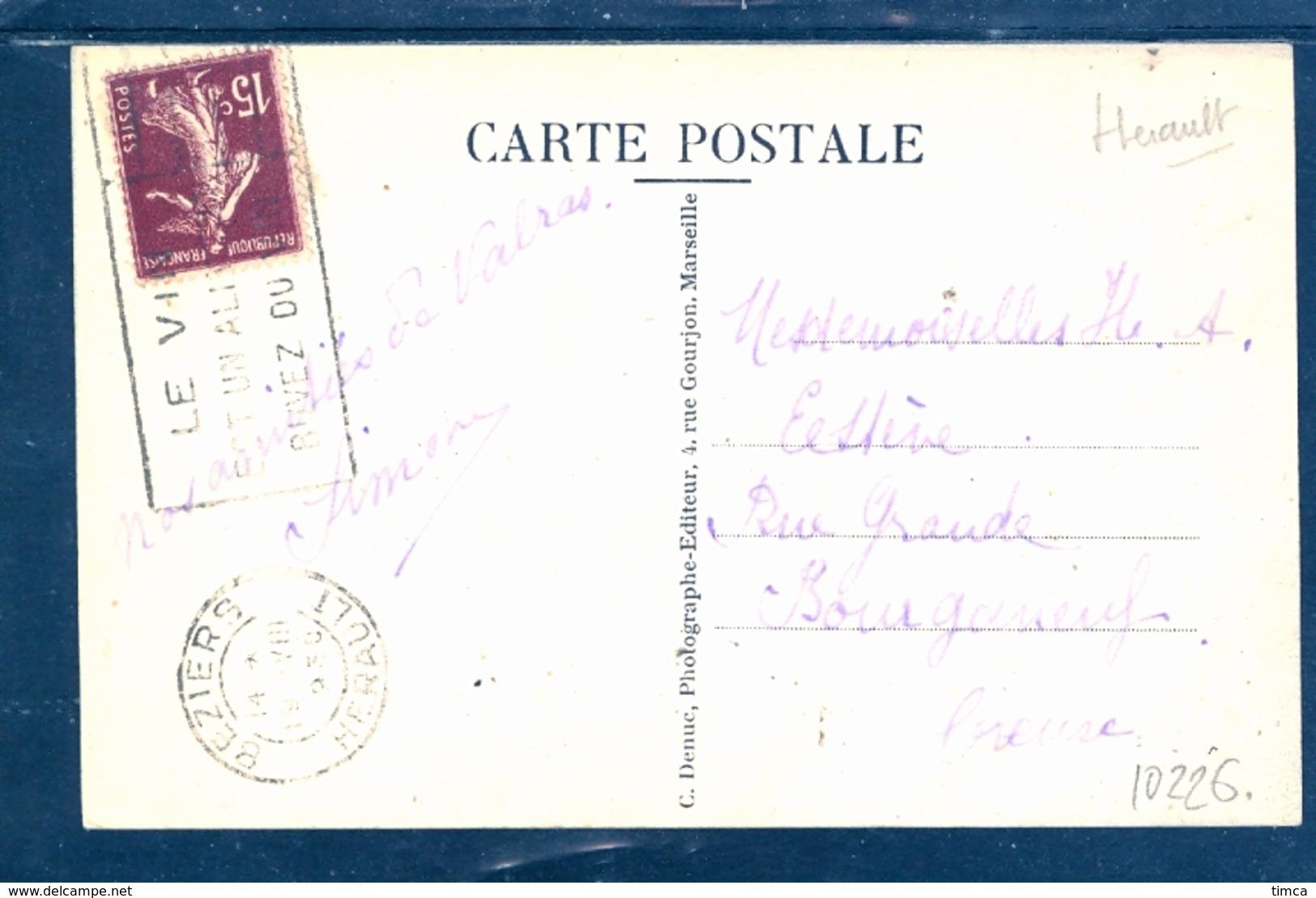 10226 Valras La Plage.- (Hérault) Station Balnéaire: A La Mer - Baigneuses Prenant Leur Bain - Francia