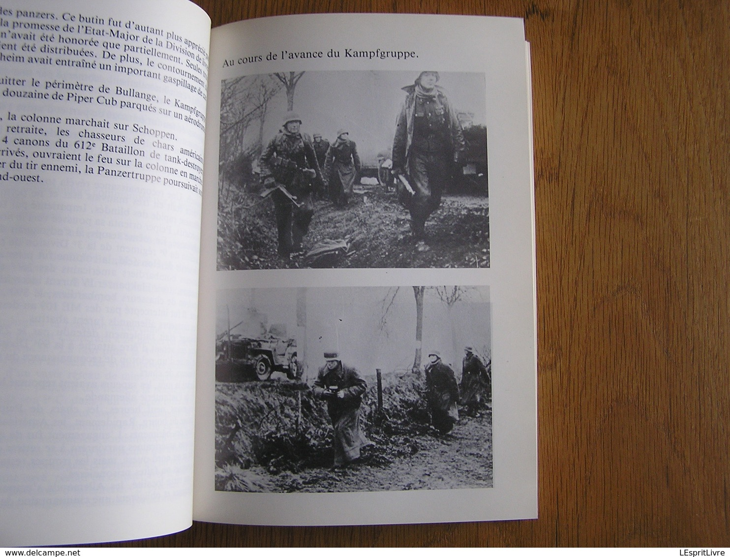 LES PANZER DE PEIPER FACE A L' U.S. ARMY Guerre 40 45 Bataille Des Ardennes Régionalisme Cheneux Stoumont La Gleize - Oorlog 1939-45