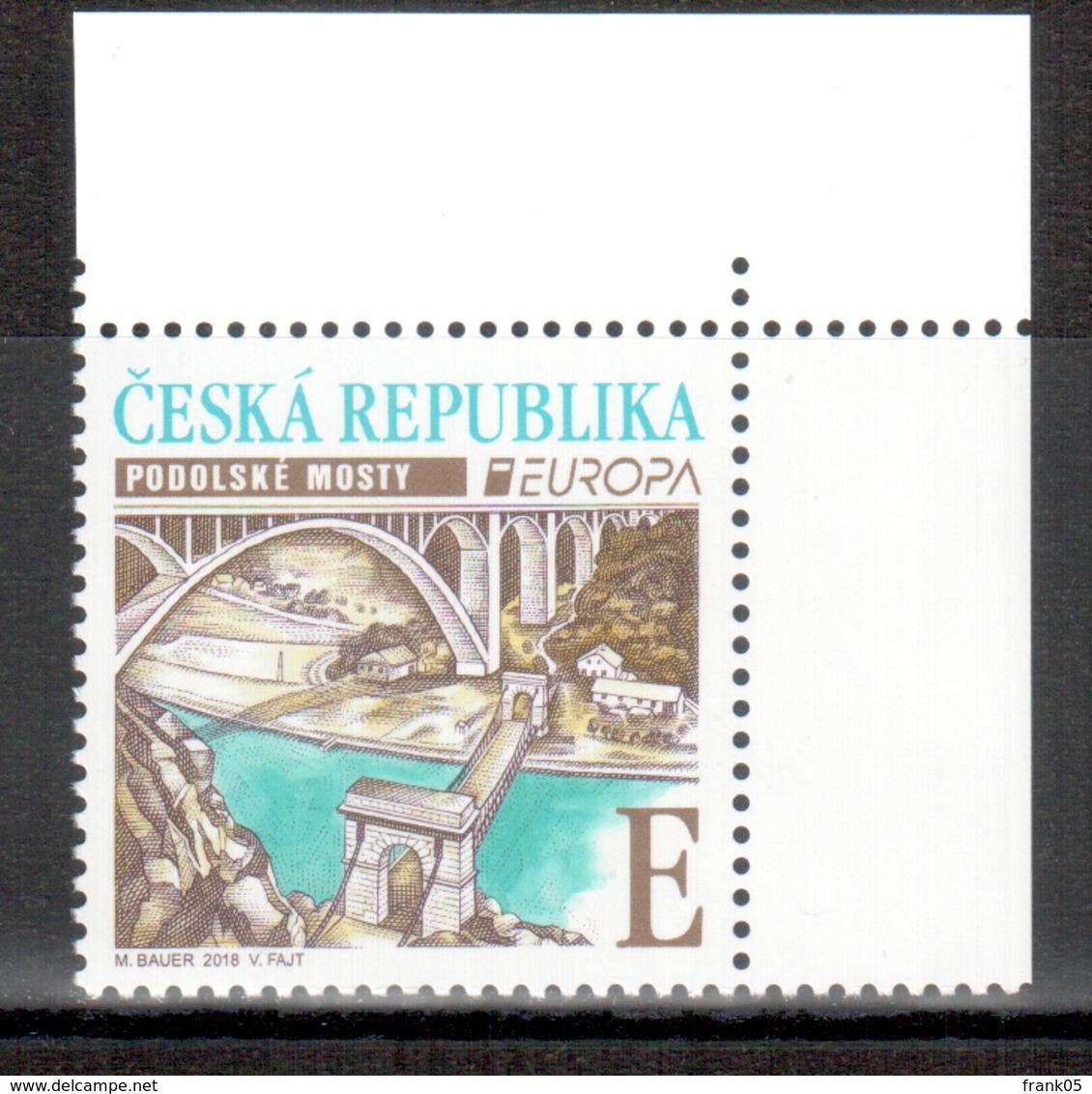 Tschechische Republik / Czech Republic / République Tchèque 2018 EUROPA ** - 2018