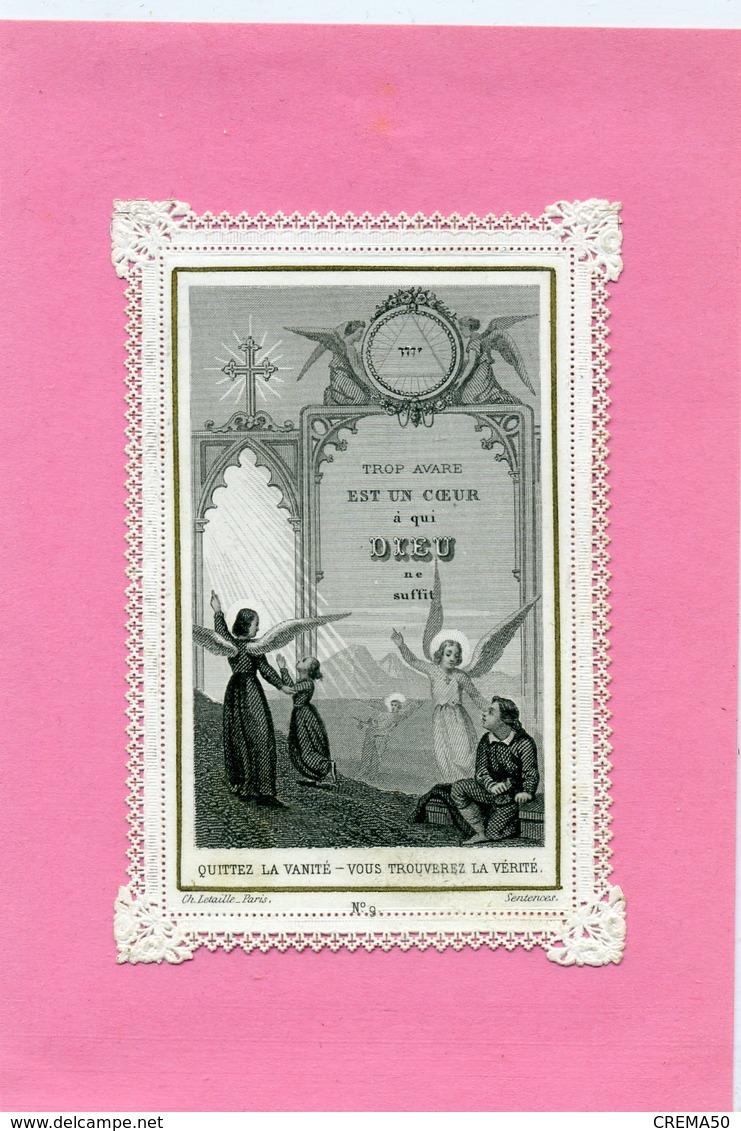 CANIVET - Quittez La Vanité, Vous Trouverez La Vérité - - Imágenes Religiosas