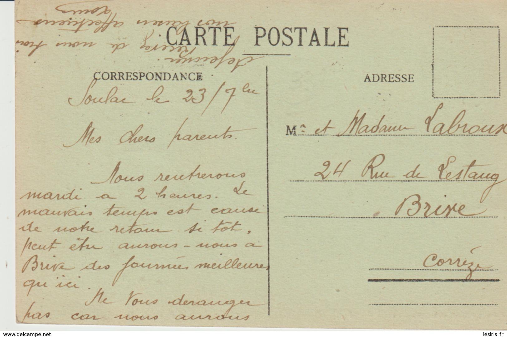 C. P. A.-  POINTE DE GRAVE - LE PORT BLOC - 8 - MALCEL DELBOY - M. D. - Frankrijk