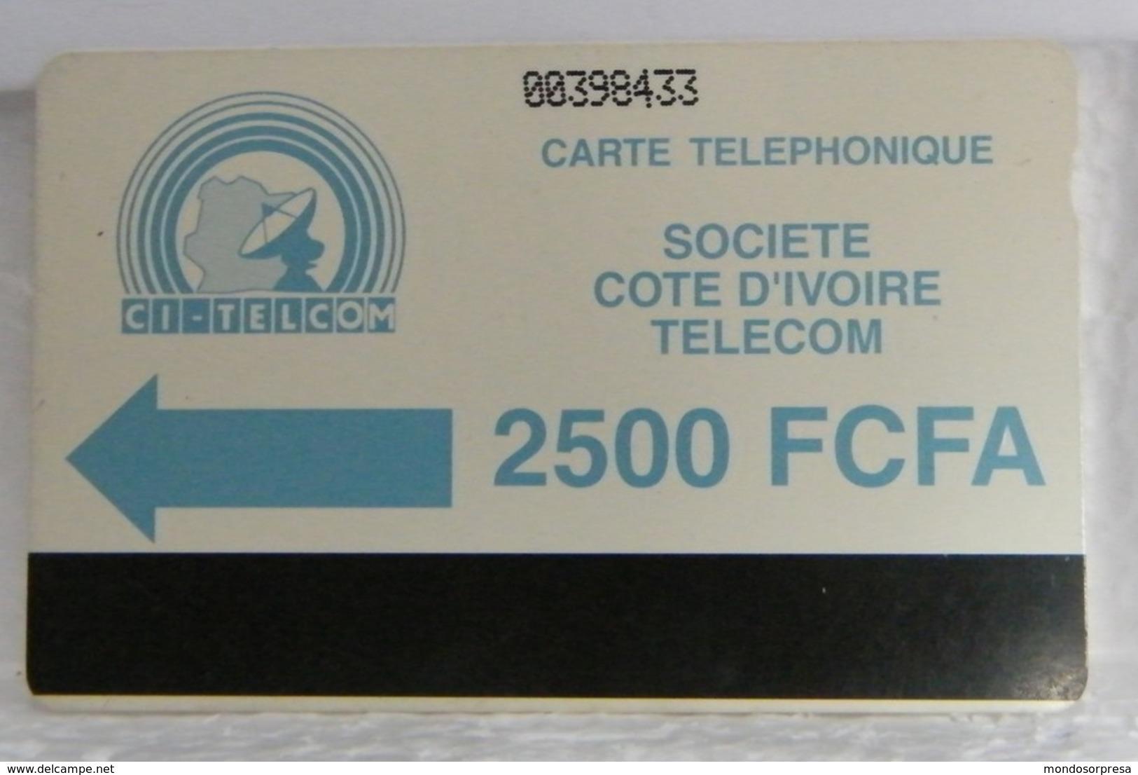 SCHEDE TELEFONICHE, COSTA D' AVORIO,  00398433 - Costa D'Avorio