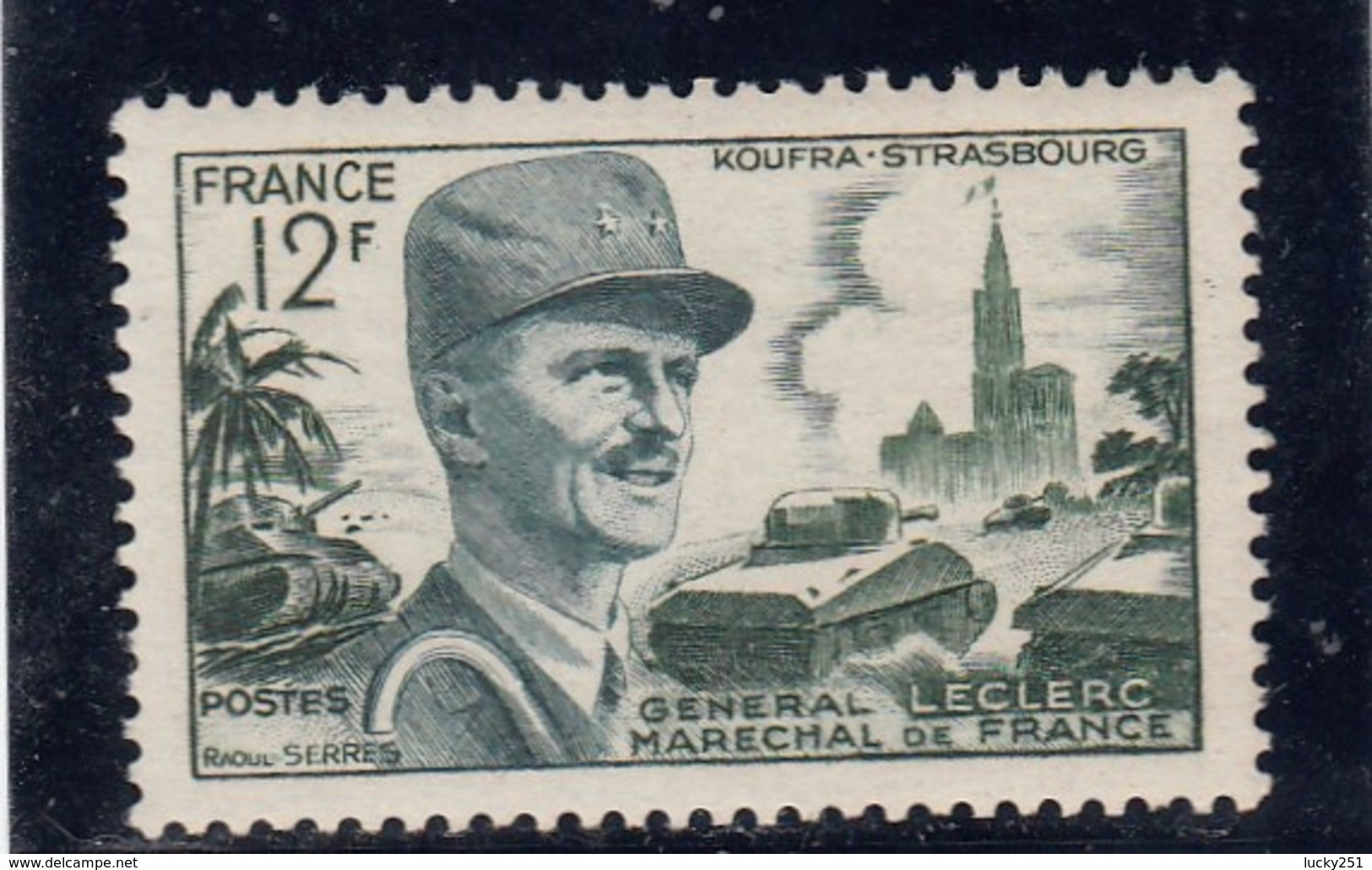 France - 1954 - N° YT 984** - Maréchal Leclerc - Francia