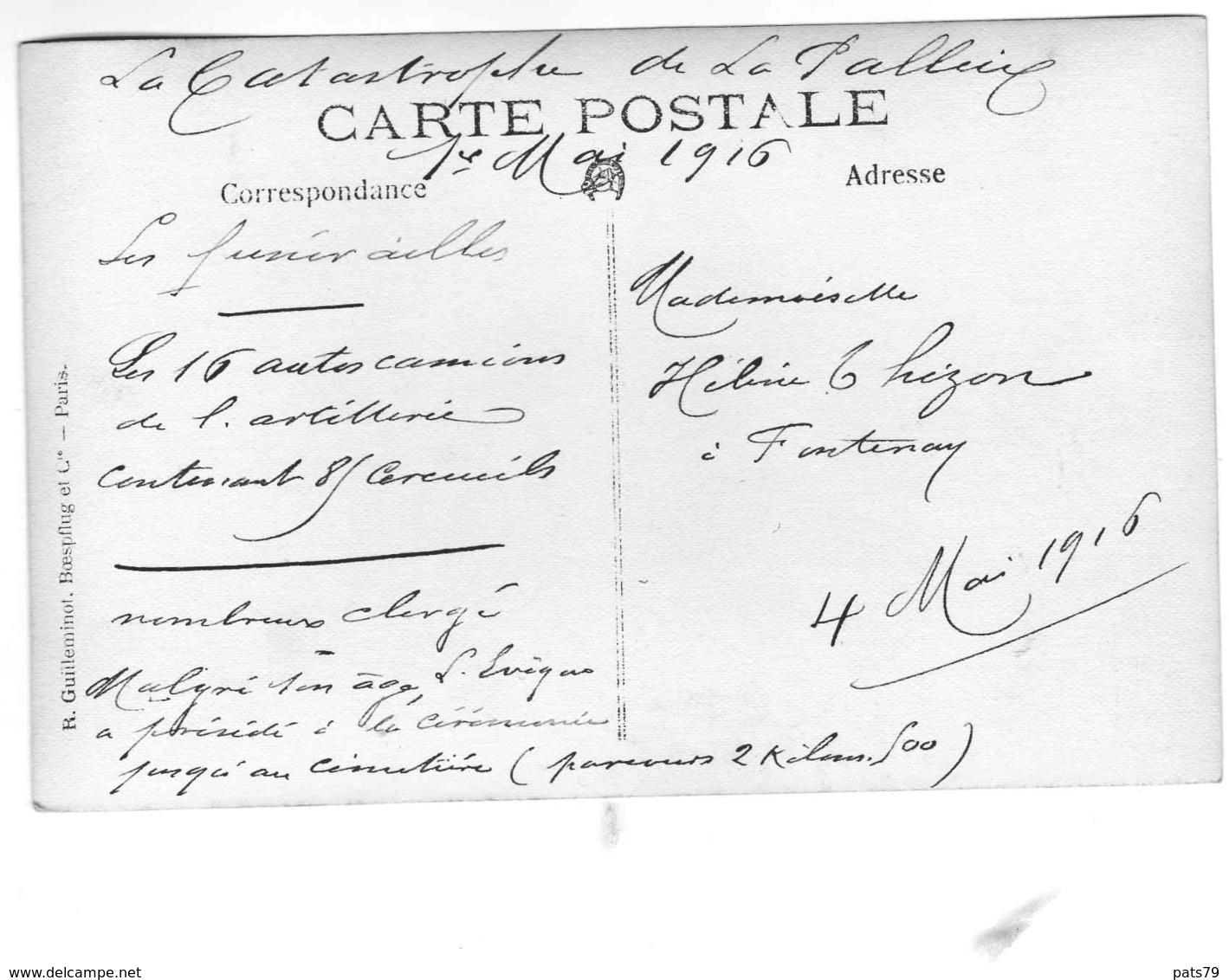 LA PALLICE- ROCHELLE  Catastrophe De L'Usine à Pétrole Du 1er MAI 1916 (CARTE P¨HOTO) - La Rochelle