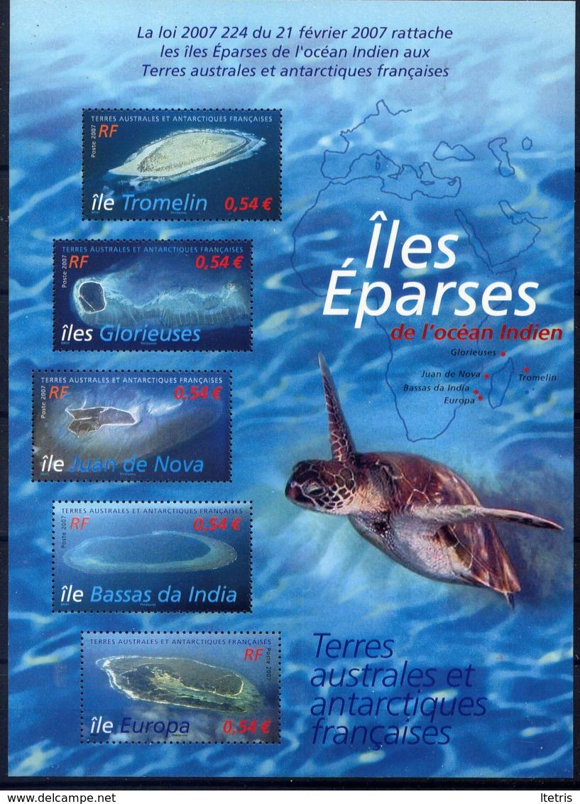 TAAF - BF18** - LES ÎLES EPARSES - Hojas Bloque