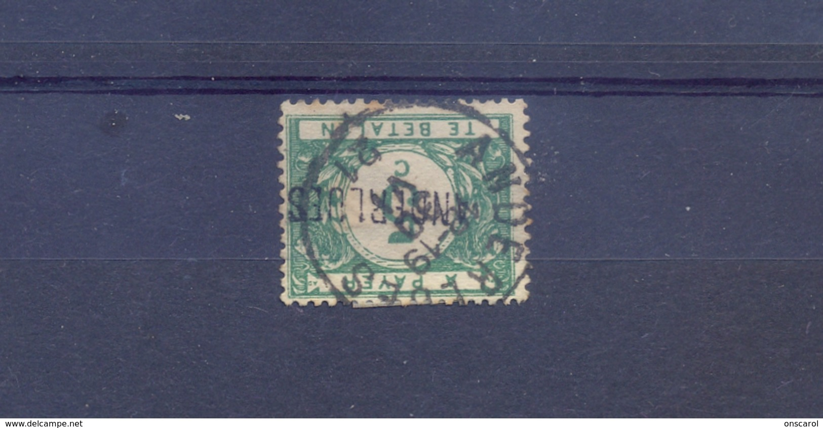 Nr. TX26 Met Naamstempel ANDERLUES - Portomarken