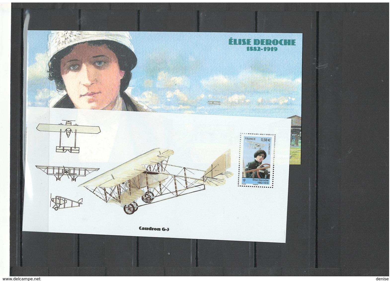 France   Blocs Souvenirs Année 2009 - 2010 - DEPART 1 EURO -21 Piéces Dans Leur Dépliant Cartonné Illustré - Souvenir Blocks & Sheetlets