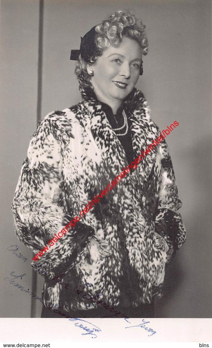 Simonne Van Parijs - Koninklijke Opera Gent - Opera Carmen 1959 - Foto 10x16,5cm - Photos