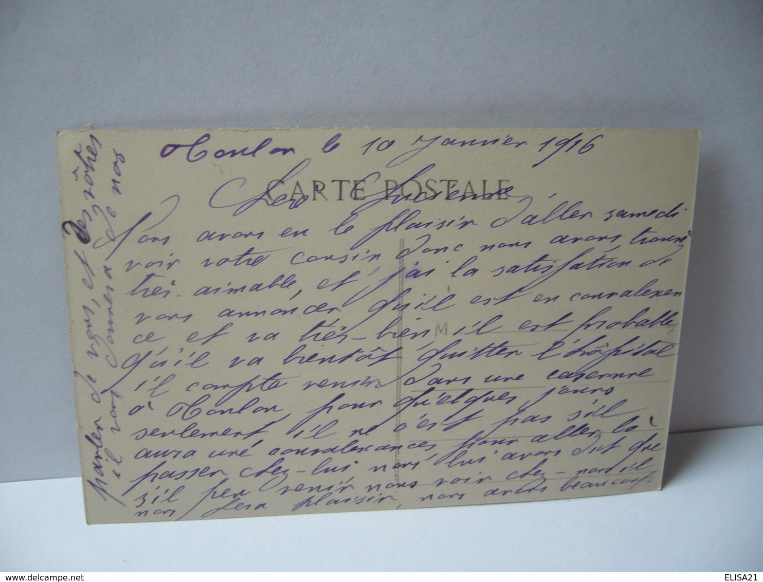 COTE D'AZUR HÔPITAL DE SAINT MANDRIER 83 VAR CPA 1916 édit Fouge - Saint-Mandrier-sur-Mer