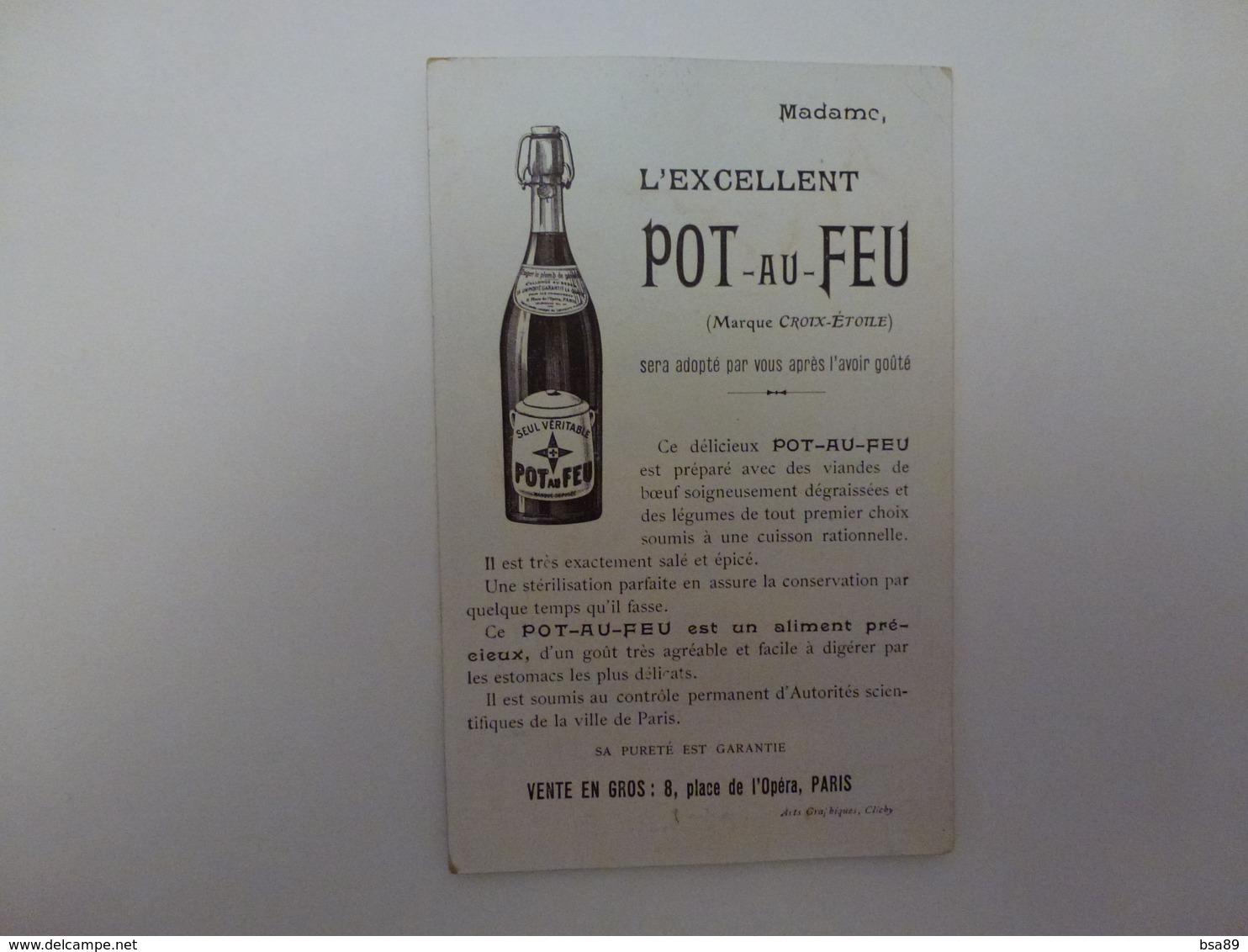 PUB POT-AU-FEU,CHEZ NAUDIN,51 AVENUE DES TERNES - Pubblicitari