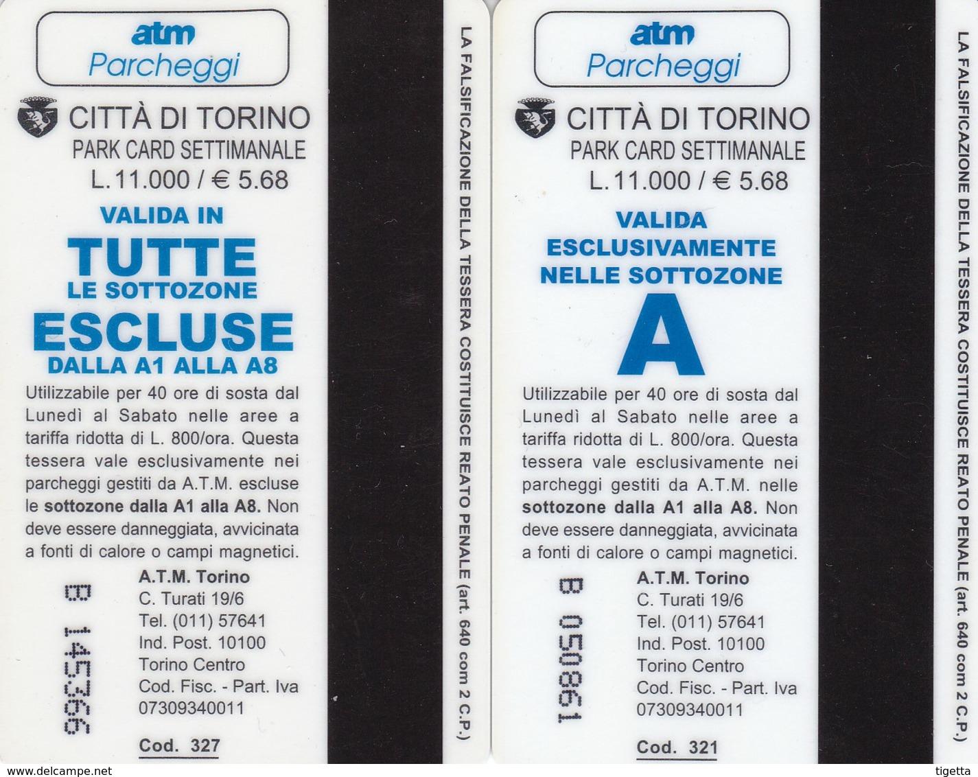 TORINO PARCHEGGI - Tickets - Entradas