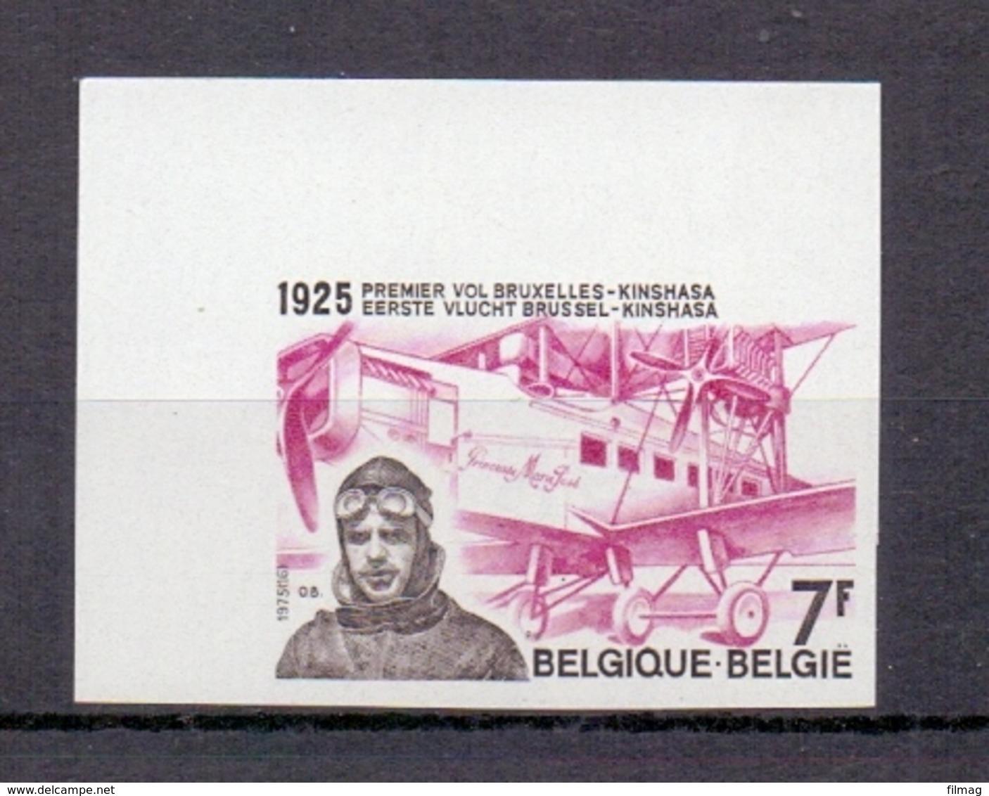 1782 EERSTE VLUCHT ONGETAND POSTFRIS**  1975 - Belgique