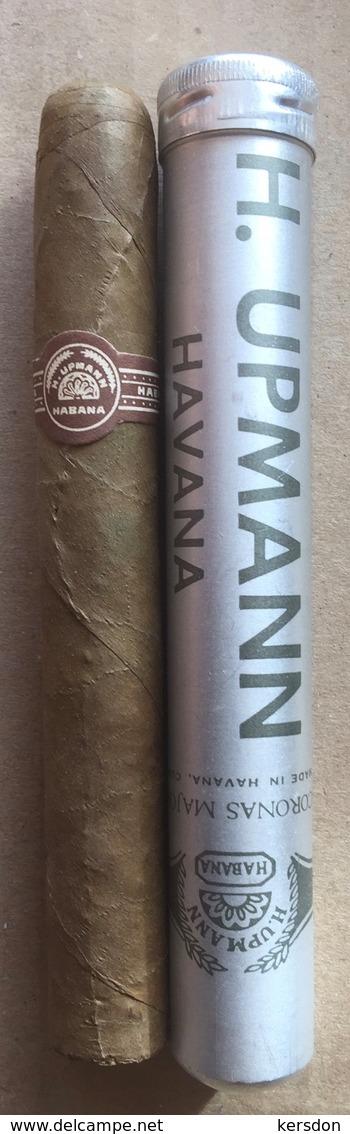 Cigare De Marque UPMANN Avec Son Tube En Aluminium - Contenitore Di Sigari
