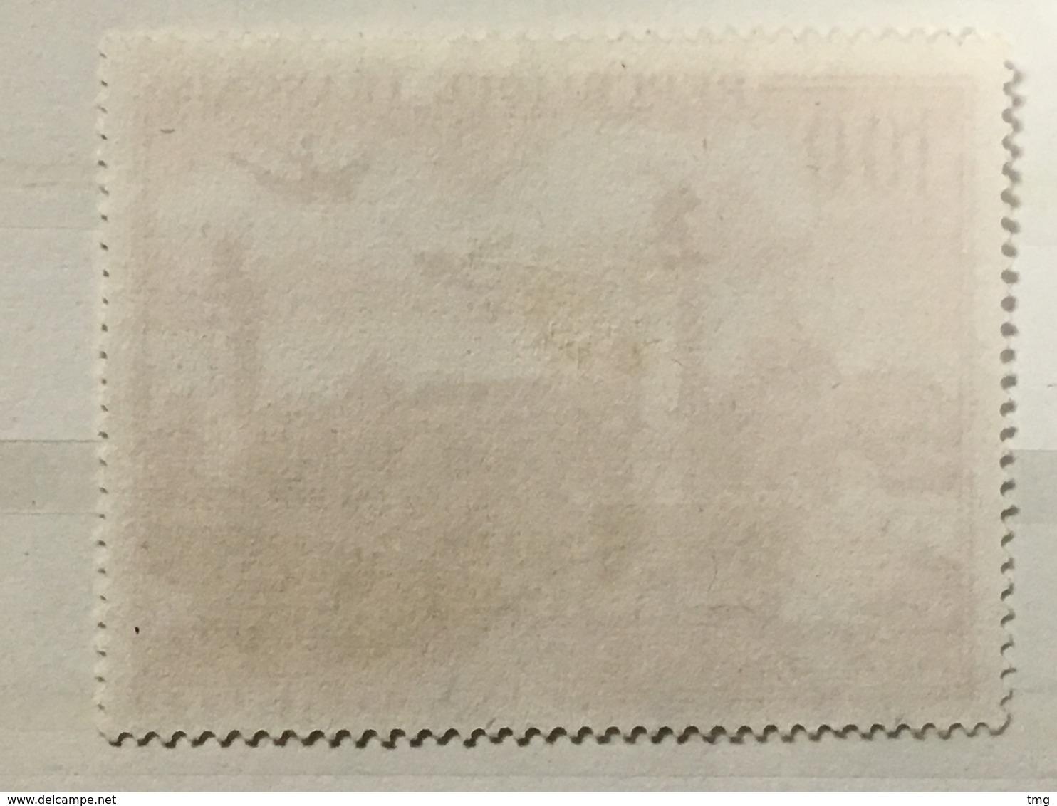 Timbre France Poste Aérienne YT 28 (°) Obl 1949 Grand Palais Et Pont Alexandre III (côte 7,65 Euros) – 184a - Luftpost