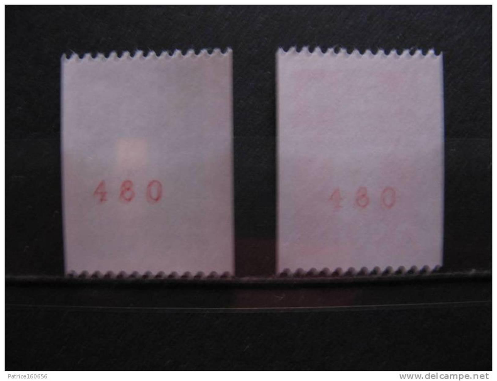 TB Paire N° 2627a Et N° 2628a, Neufs XX. - Neufs