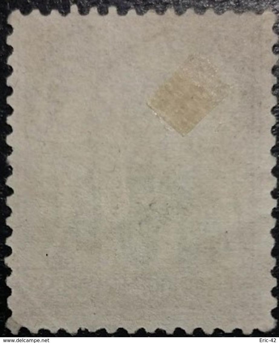 France N°87 Sage 3c. Gris. Oblitéré CàD - 1876-1898 Sage (Type II)