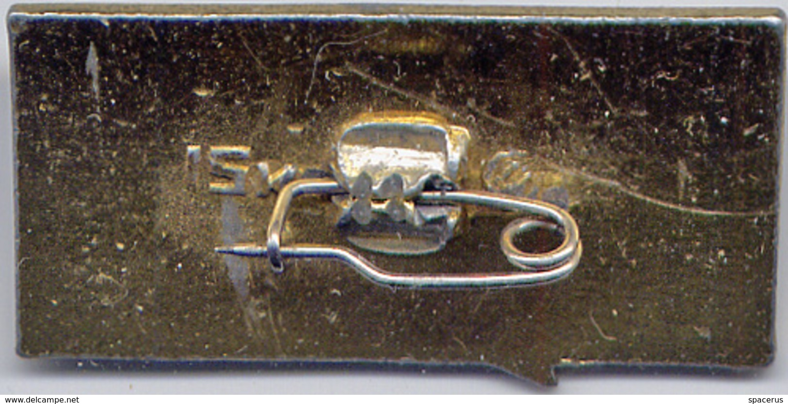 152 Space Soviet Russian Pin. Spaceship Soyuz-3. 26.X.1968. Rocket - Space