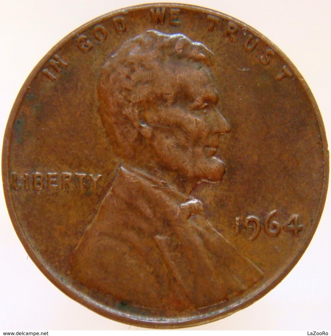 United States Of America 1 Cent 1964 XF - Emissioni Federali