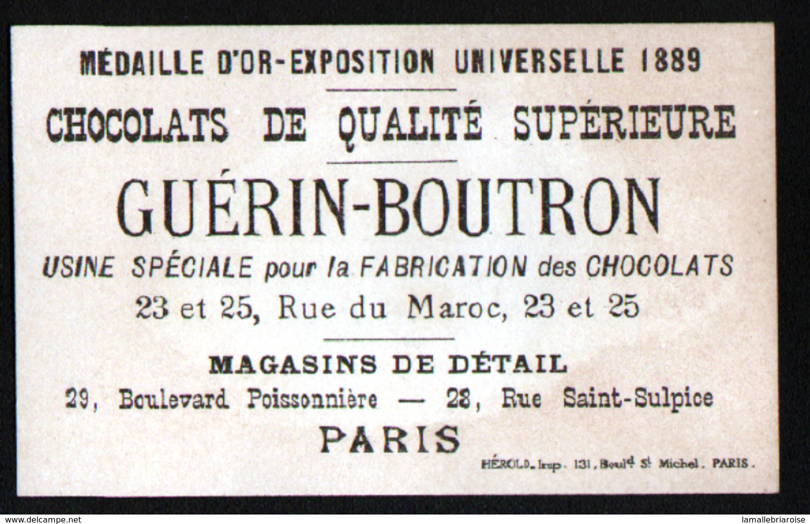 Chomo Guerin Boutron, Sujets Annonces, Jeune Homme Rangé - Guérin-Boutron