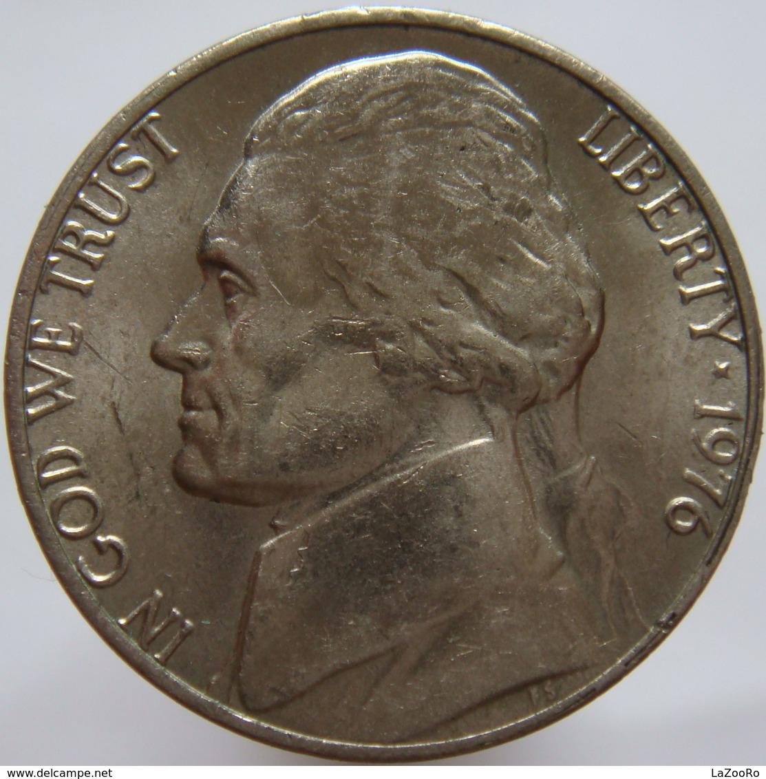 United States Of America 5 Cents 1976 XF - Emissioni Federali