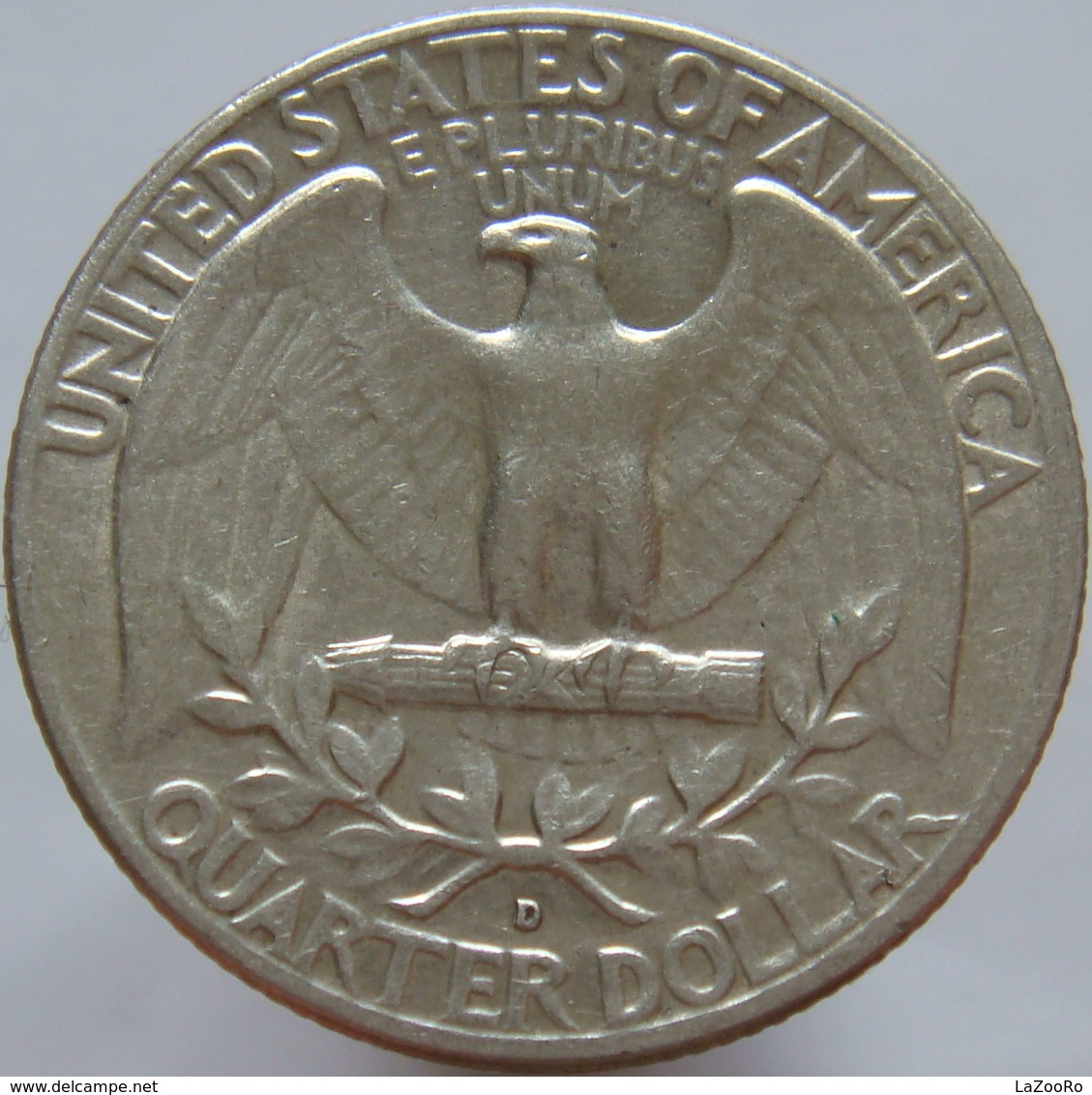 United States Of America 25 Cents 1963 D XF / UNC - Silver - Emissioni Federali