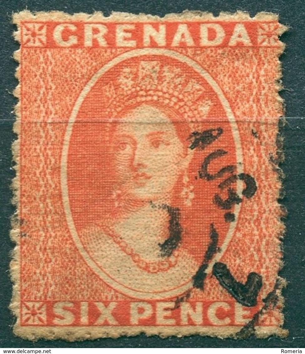 Grenade - 1863 - Yt 4 - Victoria - Oblitéré - Grenada (...-1974)