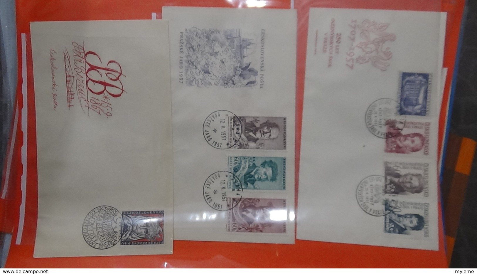 Lot De 58 Enveloppes 1er Jour De Tchécoslovaquie. A Saisir !!! - Timbres