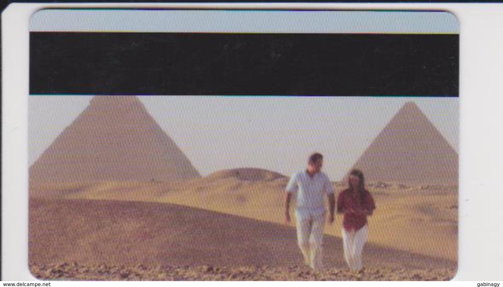 HOTEL KEYS - 2116 - EGYPT - SEMIRAMIS INTERCONTINENTAL CAIRO - PYRAMID - Cartas De Hotels