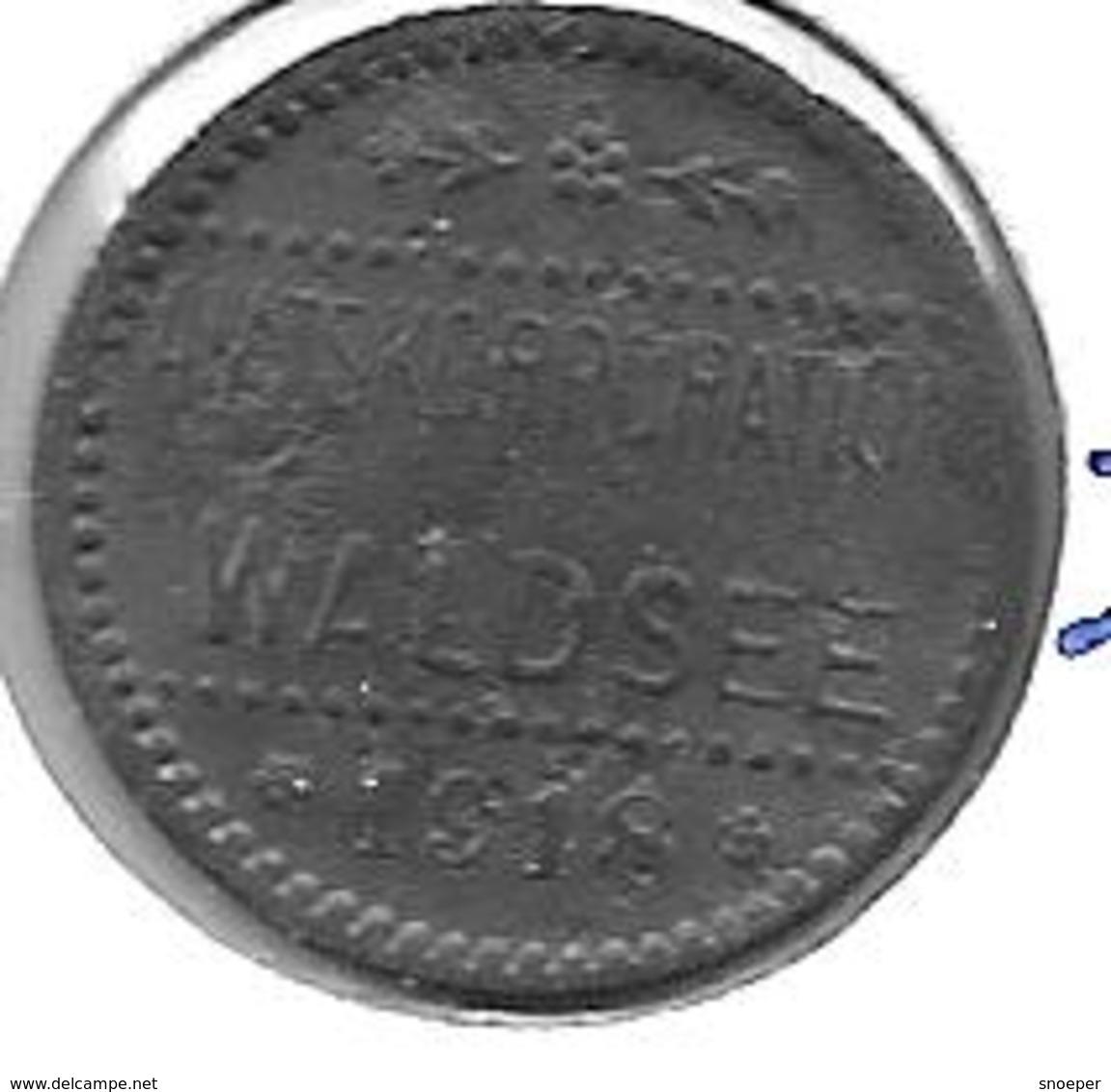 *notgeld  Waldsee  5 Pfennig  1918 Zn   569.1b - [ 2] 1871-1918 : Impero Tedesco
