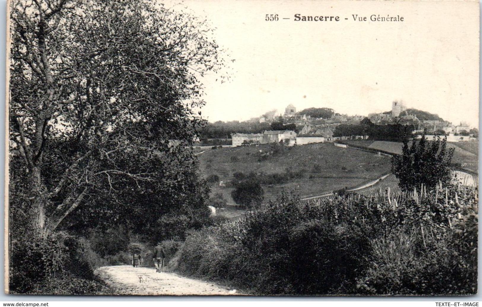 18 SANCERRE - Vue Générale [REF/S010871] - Sancerre