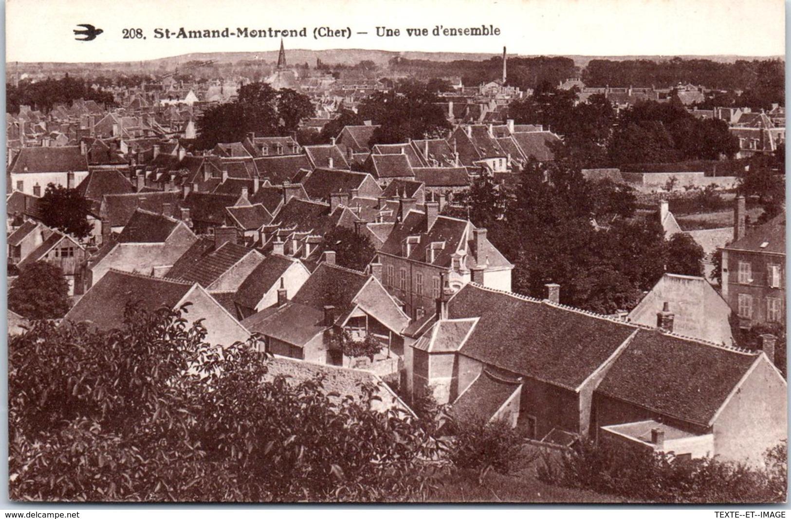 18 ST AMAND MONTROND - Une Vue D'ensmble [REF/S010812] - Saint-Amand-Montrond