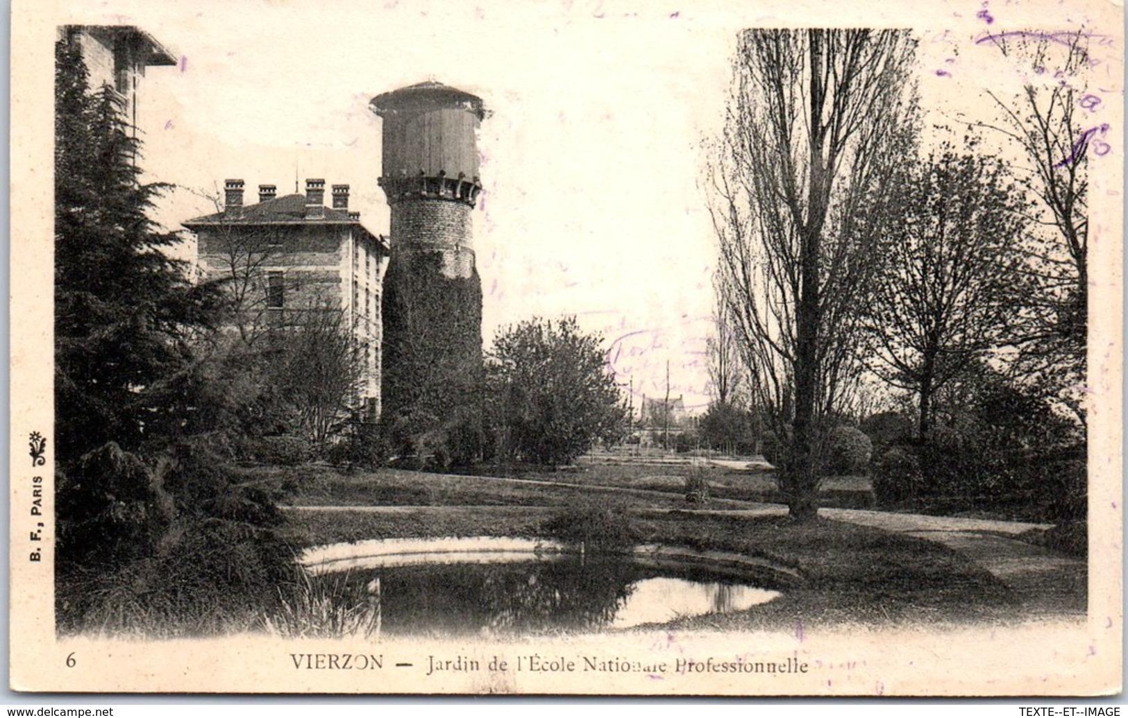18 VIERZON - Jardin De L'école National Professionnelle [REF/S010847] - Vierzon