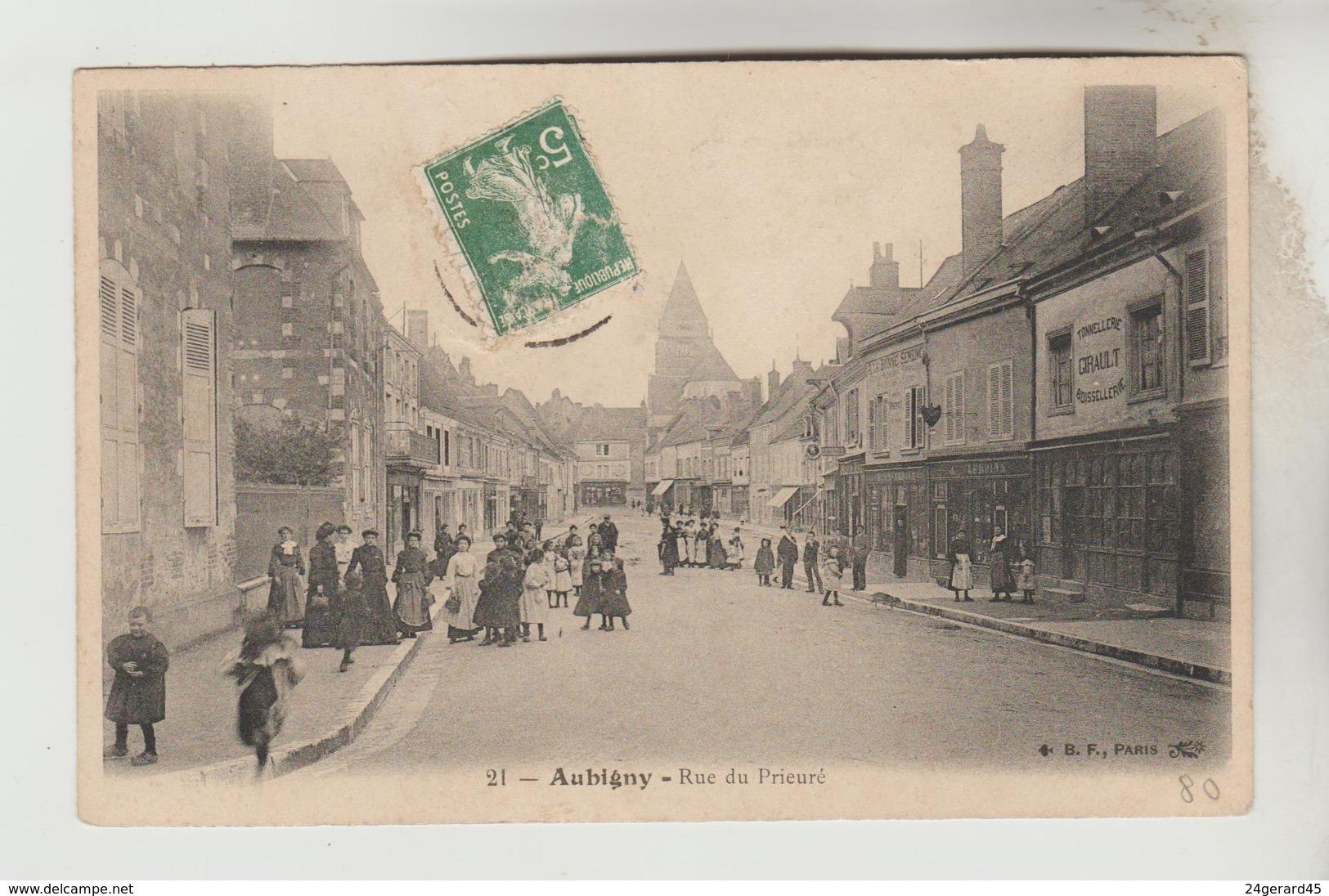 CPA AUBIGNY SUR NERE (Cher) - Rue Du Prieuré - Aubigny Sur Nere