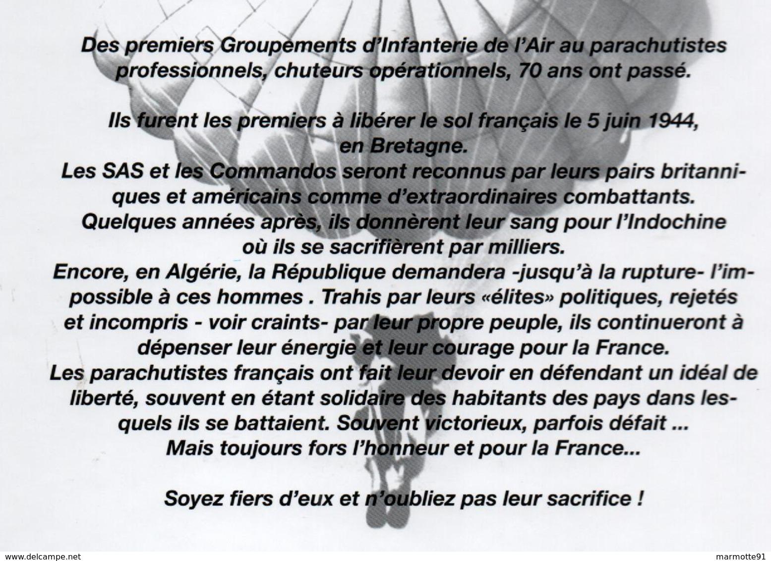LES PARAS DE FRANCE HISTOIRE ILLUSTREE DES UNITES PARACHUTISTES 1935 2005 TAP BERET ROUGE - Francese
