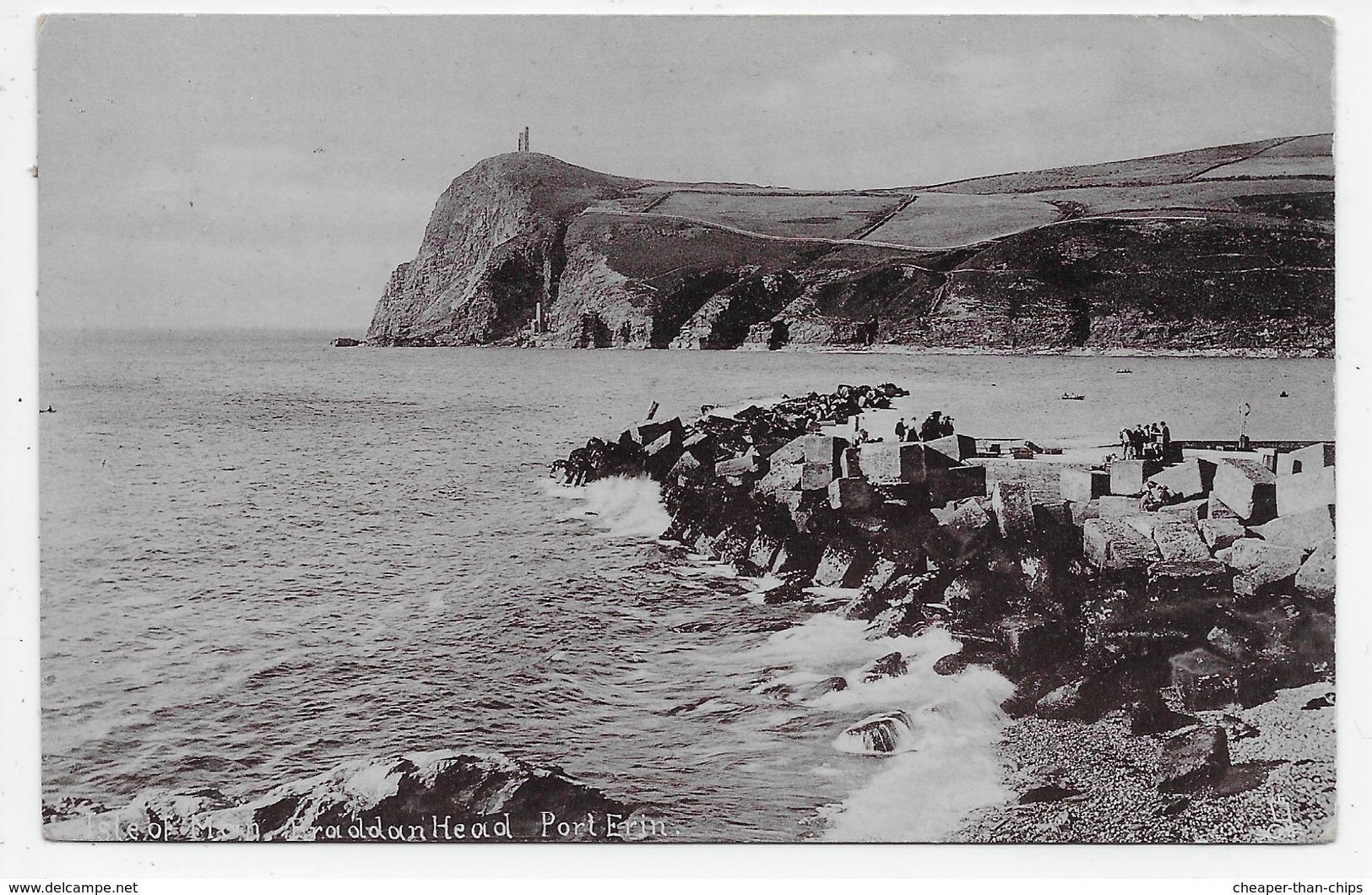 Isle Of Man. Braddan Head. Port Erin. - Tuck Silverette 1733 - Isle Of Man