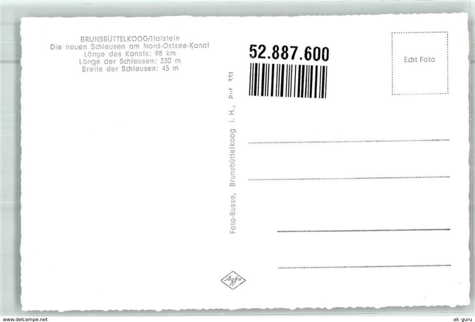 52887600 - Brunsbuettelkoog - Brunsbuettel