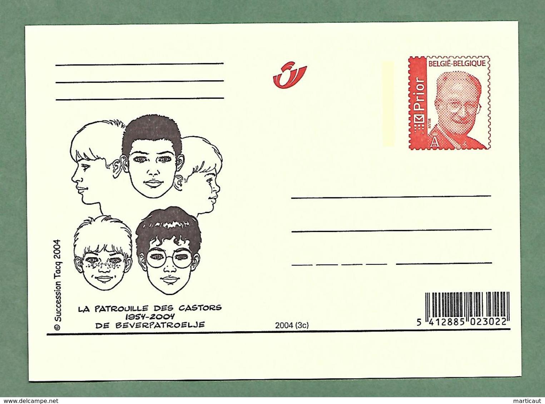 Jerry Spring + La Patrouille Des Castors  : 2004 - Cartes Illustrées