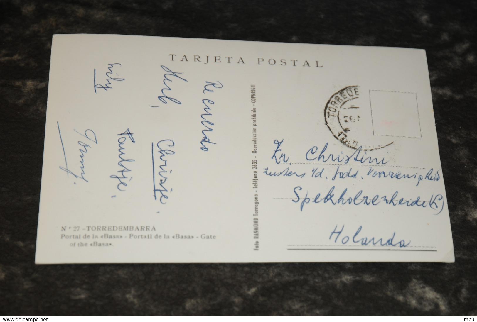 8382     TORREDEMBARRA, PORTAL DE LA BASA - Tarragona