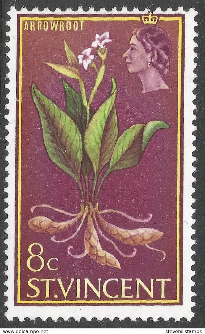 St Vincent. 1965-67 Definitives. 8c MH. SG 237 - St.Vincent (...-1979)