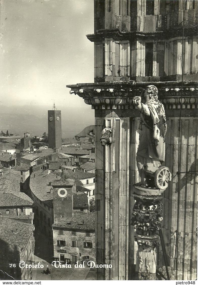 Orvieto (Terni) Scorcio Panoramico Dal Duomo, Panoramic View From The Cathedral - Terni