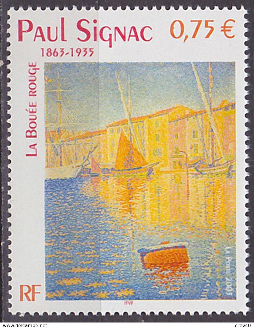 Timbre Neuf ** N° 3584(Yvert) France 2003 - Tableau De Paul Signac - Unused Stamps