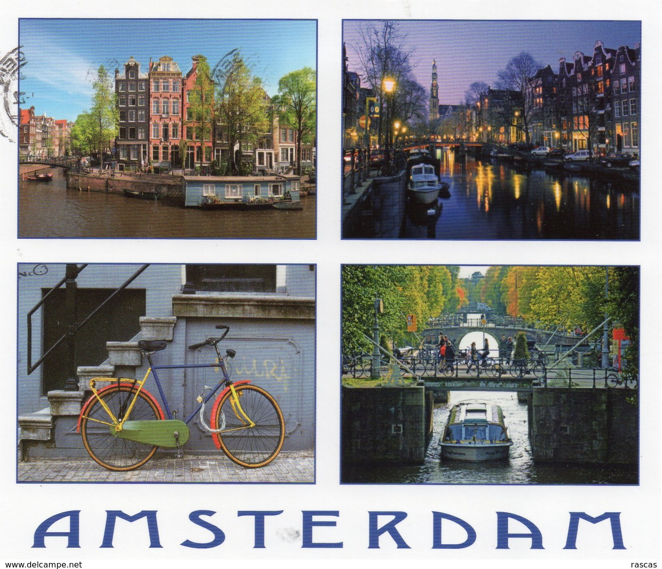 CPM - PAYS BAS - NEDERLAND - AMSTERDAM - MULTIVUES - Amsterdam