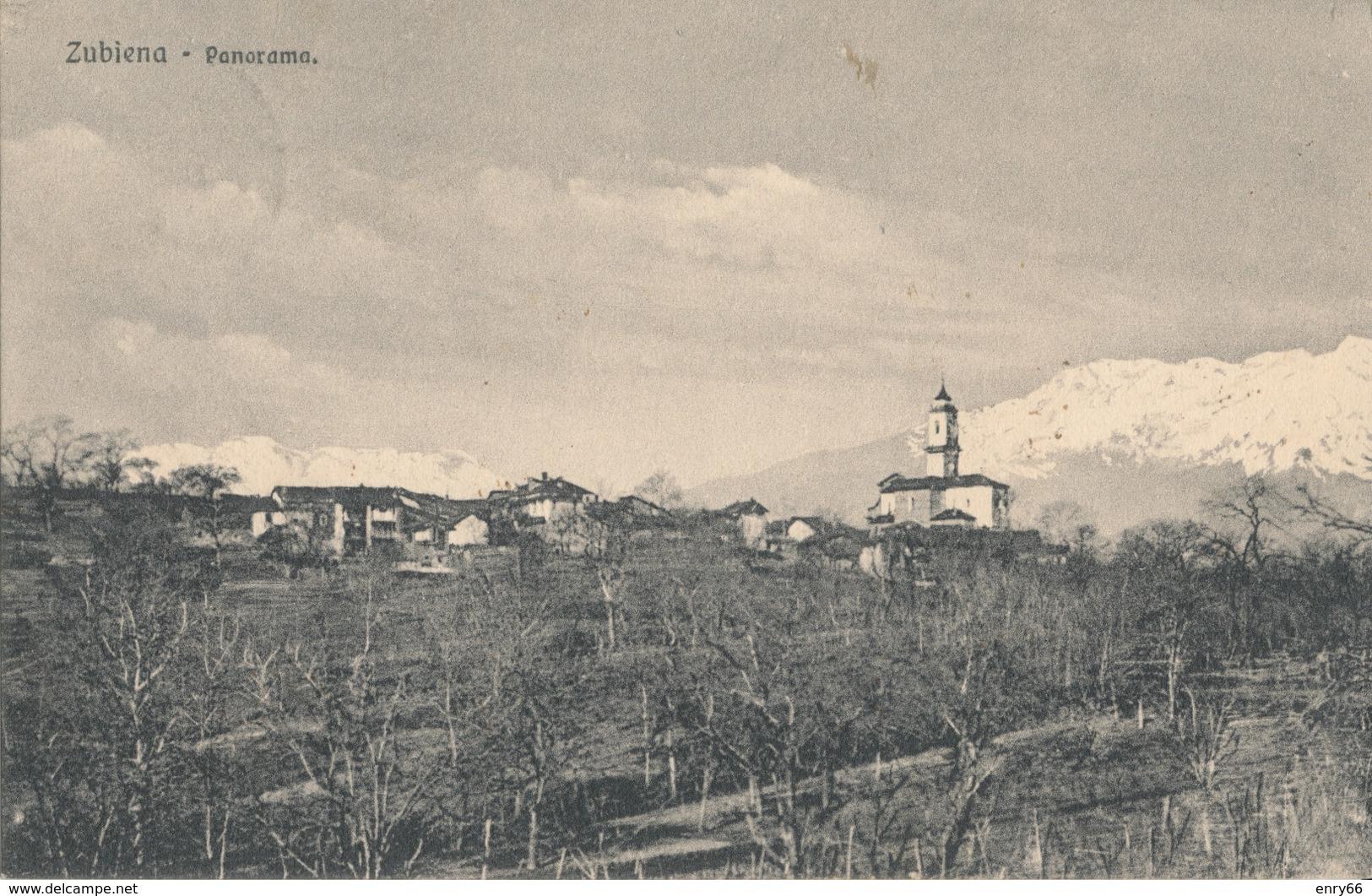 BIELLA-ZUBIENA PANORAMA - Biella
