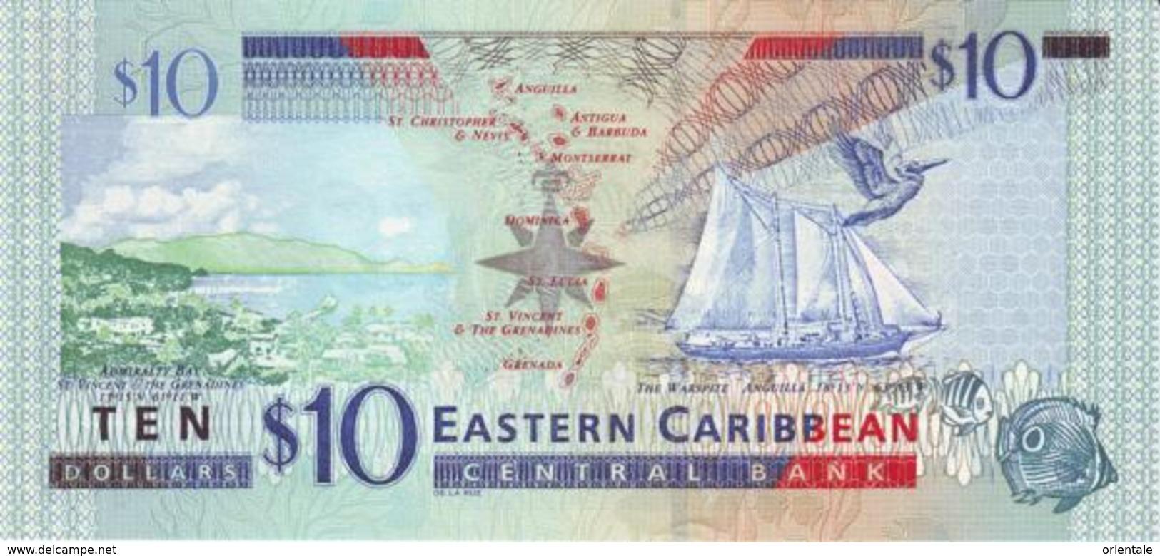 EAST CARIBBEAN STATES P. 43l 10 D 2003 UNC - Oostelijke Caraïben