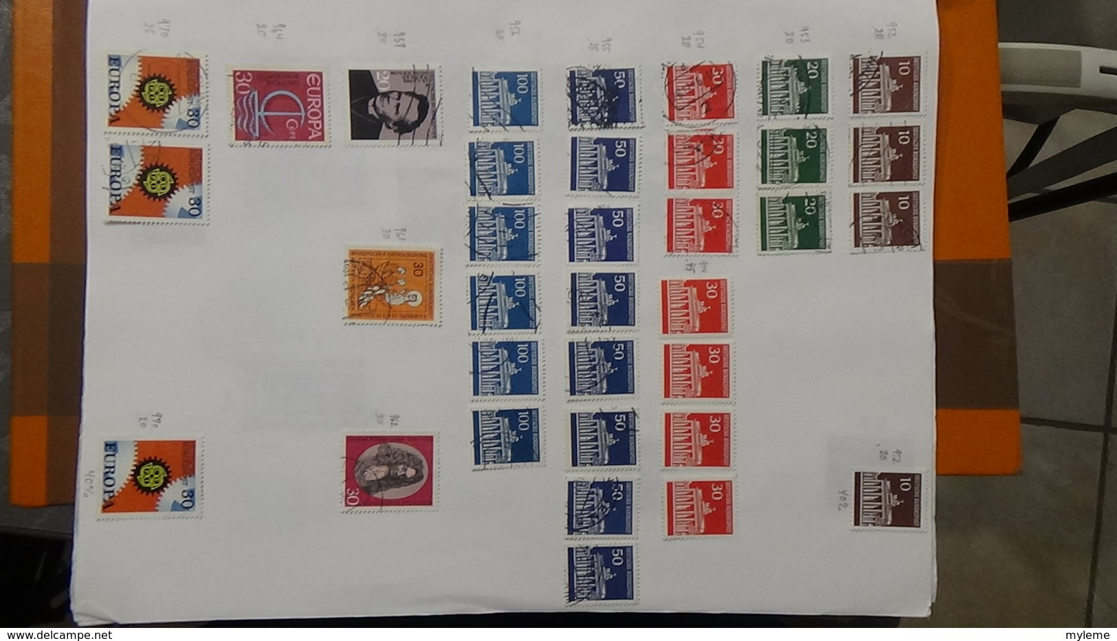 A238 Cahier De Timbres D'Allemagne Dont Fin De Catalogue. A Saisir !!! Voir Commentaires - Timbres