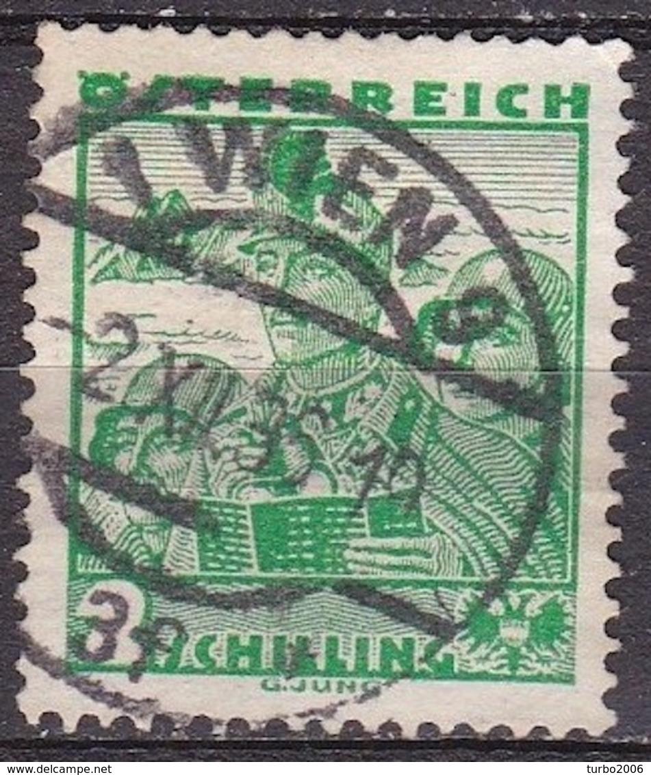Osterreich / Austria 1934 Osterreichische Volkstrachten 2 S Grün Mi 585 - 1918-1945 1ste Republiek